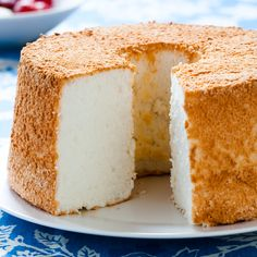 This is seriously the best angel food cake i get tons of with only eight ingredients angel food cake is the ultimate test of finesse and timing forumfinder Choice Image