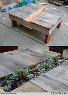 Great idea for reusing wood!