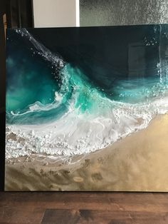 malen How To Choose The Perfect Retailer For Your Log Furniture Article Body: The great thing about Diy Resin Art, Epoxy Resin Art, Acrylic Resin, Resin Crafts, Acrylic Pouring Art, Resin Artwork, Fluid Acrylics, Pour Painting, Beach Art