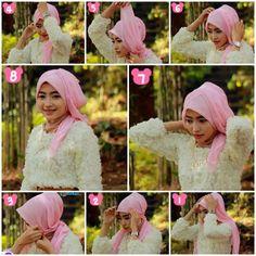 Tutorial Hijab untuk Pesta #11/ Hijab Tutorial for Party Part 11