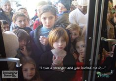 Photo by Tom Richards--Refugee children peering into the window of The Oasis Oasis, Novels, Window, Children, Movie Posters, Young Children, Boys, Windows, Kids