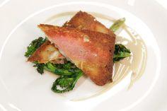 Sandwich di triglia con broccoletti e cremoso di alici by Chef Giulio Te...