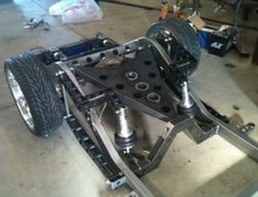 A little custom suspension work.....