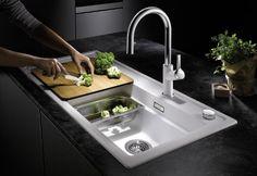 BLANCO ZENAR XL 6 S SteamerPlus Interior Design Kitchen, Kitchen Sink, Catering, Cooking, Modern, Html, Home Decor, Kitchens, Kitchen