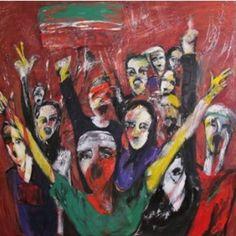 Meryem (Maryam) Salahi Galeri Artİst'te Yeşeren Suretler Sergisini Açıyor |