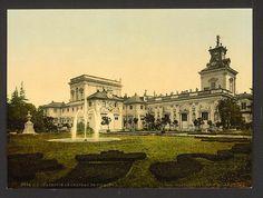 Vilanow, Castle, I, Warsaw, Poland. 1900. Source: U.S. Library of Congress.