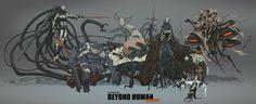 ArtStation - Bjorn Hurri's submission on Beyond Human - Character Design