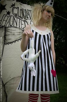 Gloomth's Haunted Circus Trapeze Dress by gloomth on Etsy, $115.00