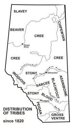 Alberta Grade 4 Social Studies 4.2 - History - First Nations (Image Only) See Also: http://www.native-languages.org/alberta.htm