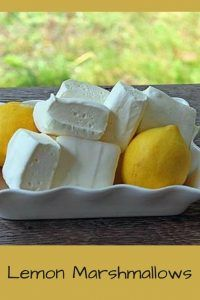 Homemade Lemon Marshmallows – easier than you think! Homemade Lemon Marshmallows--Did you know that marsmallow is an aphrodisiac? Dive in to some marshmallow history and discover the best lemon marshmallow recipe. Flavored Marshmallows, Recipes With Marshmallows, Making Marshmallows, Candy Recipes, Cookie Recipes, Dessert Recipes, Desserts, Lemon Recipes, Baking Recipes
