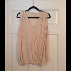 *NWT* Drapey Blouse in Oatmeal (M) *NWOT* Drapey Blouse in Oatmeal. Size medium. Brand new without tags. Tops Blouses