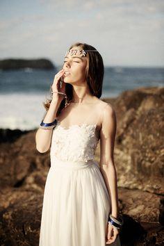 Handmade Boho Bridal Gowns for Your Beach Wedding - Beach Wedding Tips