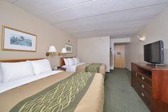 Standard Guest Room with 2 Queen Beds #ComfortInn #Woodbridge