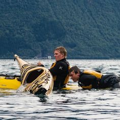 """A participant on a basic course asked me the other day when I said that I personaly end every paddle trip by practising some rescue skills: """"But what if the water is cold? Dream Chaser, Archipelago, Outdoor Life, Paddle, Kayaking, Norway, Contrast, Outdoors, Sky"""