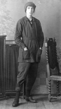 WWI munitions worker