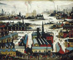 L.S Lowry: Industrial City
