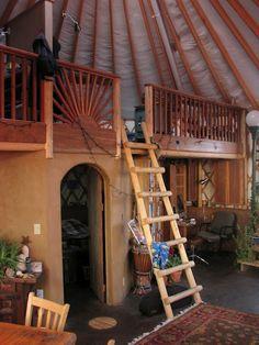 Gorgeous Loft - love the doorway too