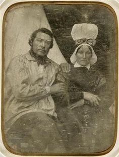Le frère et la soeur du peintre Jean-François Millet