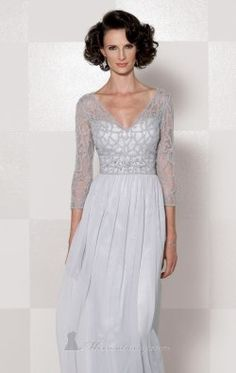 Lace Soft Tulle Gown by Cameron Blake 114659