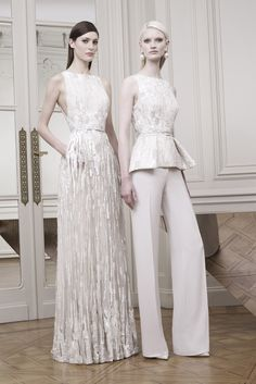 Elie Saab Would you dare wear a suit for your wedding?