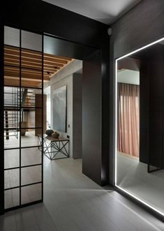 #Interior Design Haus 2018 Wände Mit Stein Und Indirekter Beleuchtung  Dekoriert #Decoration #Schlafzimmer
