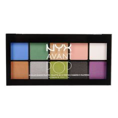 Nyx Avant Pop! Shadow Palette in Art Throb, $17; nyxcosmetics.com
