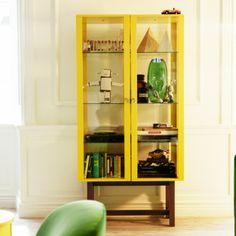 Mobilier utile : 20 meubles de rangement originaux : Vitrine Ikea - Déco - Plurielles.fr