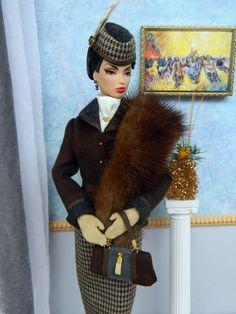 ~Bray~OOAK Fashion for Fashion Royalty/Victoire Roux & Silkstone Barbie~Joby