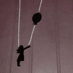 DIY: Necklace made of shrink plastic / Collier en plastique / Halsband i krympplast. made by me
