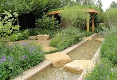 The Lands' End: A Rural Muse garden at the RHS Chelsea Flower Show 2012 was designed by Adam Frost and was inspired by the poetry of the peasant poet John Clare. This garden won a Gold medal.