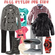 """""""Fall Styles for Kids"""" by officialpeta on Polyvore"""