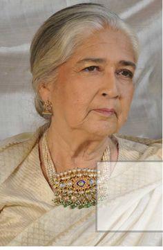 "Antique ""Jadav"" style Tanmani and Jhumki -- potdarjewellers.com"