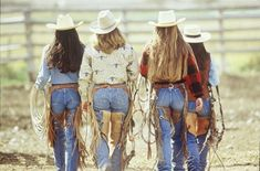 """""""Off To Ride"""", photo by David R. Sexy Cowgirl, Cowgirl And Horse, Cowboy And Cowgirl, Cowgirl Style, Hot Country Girls, Country Women, Southern Girls, Cow Girl, Cow Boys"""