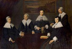 Frans Hals -Regentesses of the Old Men's Almshouse (1664)
