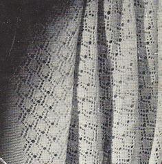 Edinburgh baby blanket epattern classic 40s by VanessaLovesVintage, $2.20 shawl, layette pattern