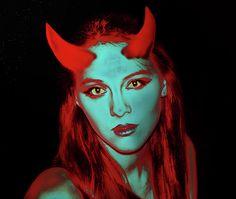 Devil Women by Miroslava Jurcik She Mask, Devil, Scary, To My Daughter, Halloween, Nice, People, Pictures, Women