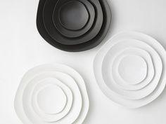 modern minimalist plates