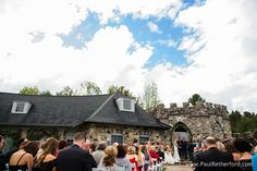 Pure Michigan showed up in the clouds at my Castle Farms Wedding.  Photo by Paul Retherford Photography, officiant Jonathan Mays, flowers by Thyme Hill Designs #puremichigan #castlefarms #wedding #nomiweddings #michigan #mitten #mittenstate