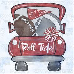 Alabama Football Doodle Sublimation Transfer Ready to Press Sublimation Transfer Or Iron On Vinyl Transfer
