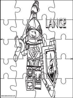 Lego Nexo Knights Puzzle für Kindern 27