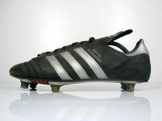vintage ADIDAS BERND SCHUSTER Football Boots size UK 8 rare OG 80s   eBay