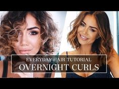 HAIR TUTORIAL - HOW I DO MY HAIR EVERYDAY - LONG BOB HAIR STYLE TUTORIAL FOR HAIR WITH A TWIST - YouTube