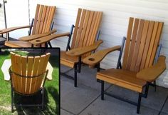 Miller - Welding Projects - Idea Gallery - Patio Chairs