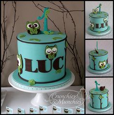Owl cake--Olivia :)