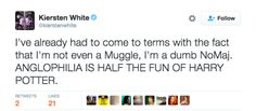 """21 """"Harry Potter"""" Tweets That Will Make You Say """"Lol, Muggles"""" -- Rofl! This honestly makes me wonder if HP GAVE me my anglophilia"""