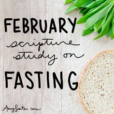 Print this 28 Day February Bible Study on Fasting | Amy Senter