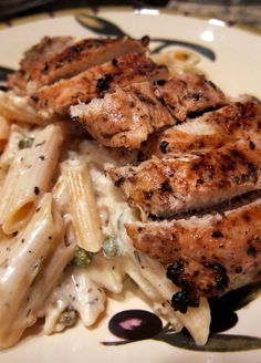 Creamy Grilled Chicken Piccata – this looks so delicious!..