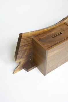Authentic George Nakashima Studio Mira Nakashima Hanging Shelf – D ROSE MOD