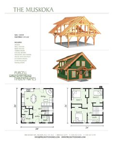 Purcell Timber Frames - The Precrafted Home Company