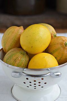 A round-up of my best Meyer lemon desserts, including a recipe for sour cream pound cake, lemon bars and a lemon meringue tart.